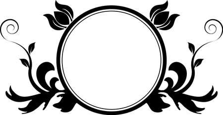 円形フレーム 写真素材 - 9717142