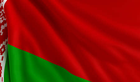 belarus: A flag of Belarus in the wind