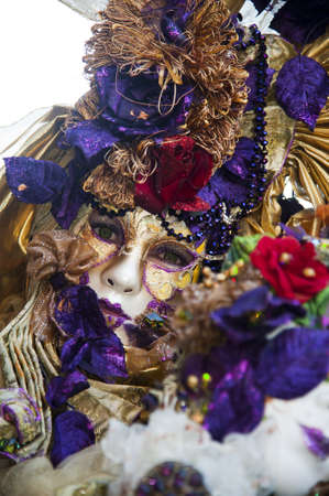 Traditional colored mask of the venice carnival Stock Photo - 12725310