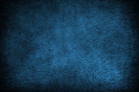 A grunge blue leather used like background