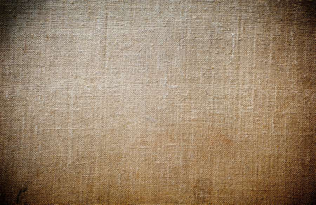 Close up of a jute material of a sack