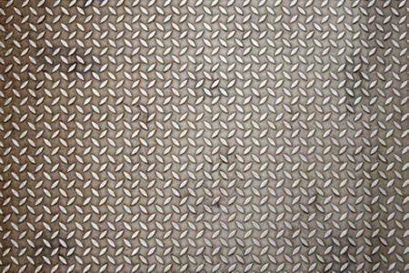 diamondplate: Background of metal diamond plate in silver color