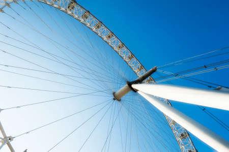 london eye: The London Eye Seen from Across the Thames