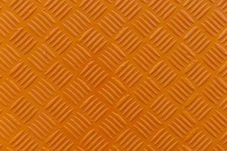 orange texture: Orange metal diamond plate texture for your designs Stock Photo