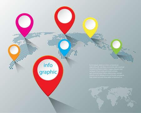 Resumen infografía número plantilla de opciones. Ilustración del vector. Puede ser utilizado para la disposición del flujo de trabajo, diagrama, opciones del paso del negocio, bandera, diseño de la tela.