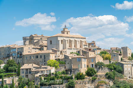 Gordes, a small medieval town in Provence, France