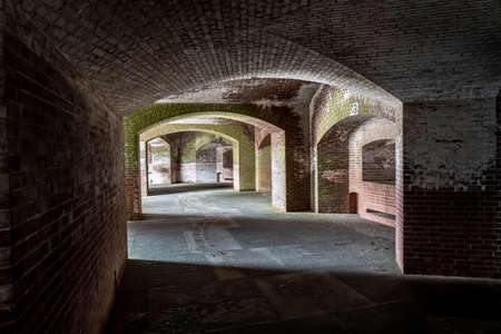 Corridors of Fort Point, San Francisco