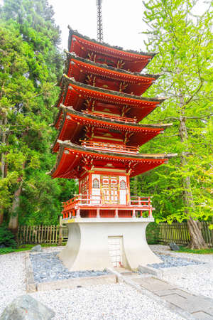 The Japanese Tea Garden in the Golden Gate Park