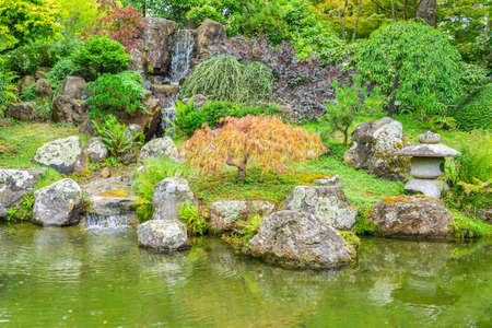 The iconic Japanese Tea Garden in Golden Gate park, San Francisco Editorial