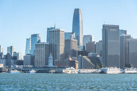 San Francisco skyline. 写真素材