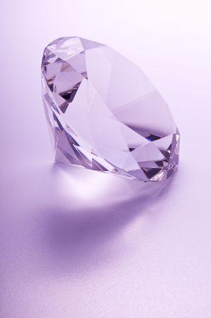 Close-up diamond Stock Photo