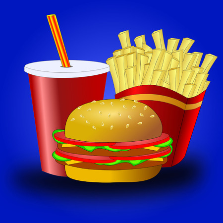 unhealthy food: Fast food