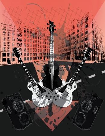 Grunge Guitars