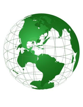 Green Planet Ilustração