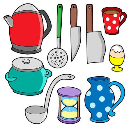 domestics: Domestics collection 2 - vector illustration.