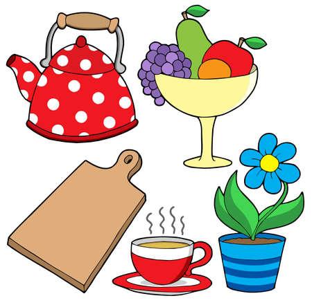domestics: Domestics collection 3 - vector illustration.