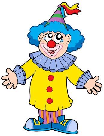 Smiling Clown - Vektor-Illustration.