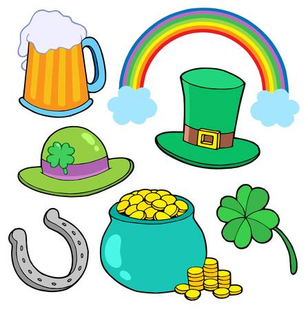 St Patricks day collection - vector illustration. Stock Vector - 4182469