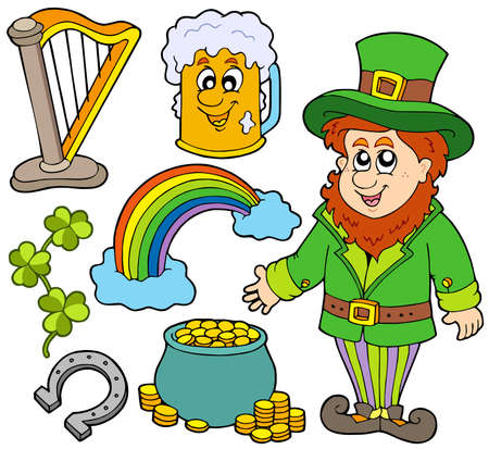 St Patricks day collection 2 - vector illustration. Stock Vector - 6520556