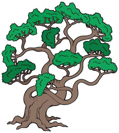 Big pine tree Stock Vector - 6579484