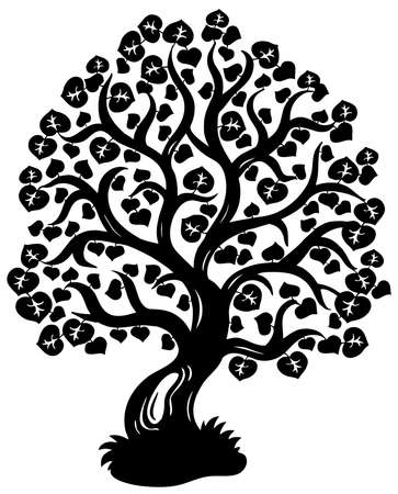 limetree: Lime tree silhouette