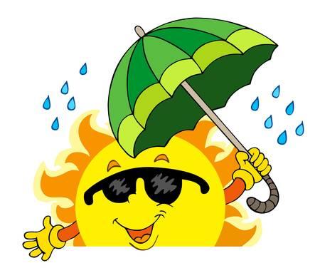 lurking: Lurking Sun with big umbrella