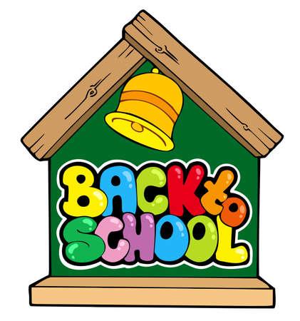 Back to school theme  向量圖像