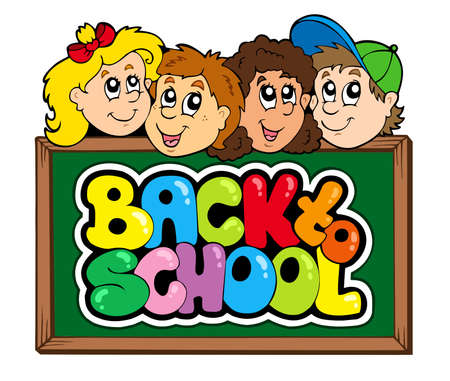 Back to school theme 5   Stock Vector - 7469520