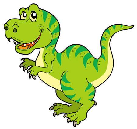 Dibujos animados tyrannosaurus rex