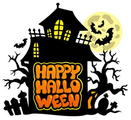 Happy Halloween theme 2 Stock Vector - 7554205