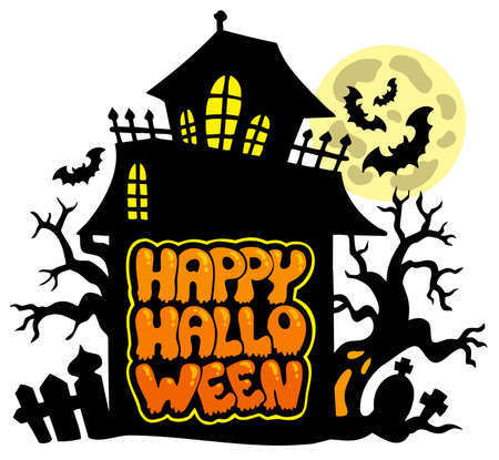 Happy Halloween theme 2 Vector