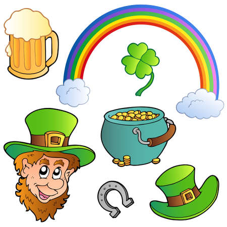 St Patricks day collection 3 Vector