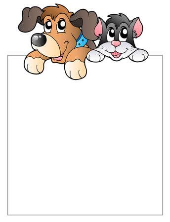 lurk: Cornice vuota con animali domestici in agguato