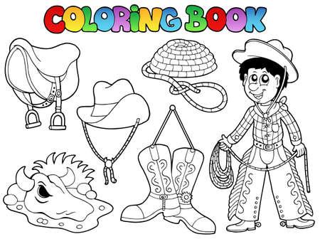 livre � colorier: Coloriage illustration collection de livres pays. Illustration