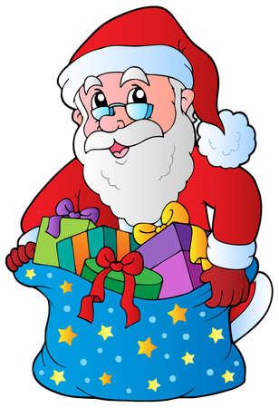 Christmas Santa Claus 3 - vector illustration. Stock Vector - 10912664