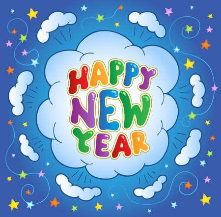 Happy New Year theme 2 - vector illustration. Stock Vector - 11654755