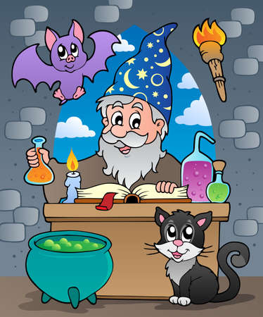 alchemist: Alchemist theme Illustration