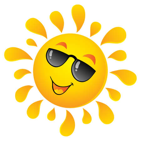 sun glass: Dom tema