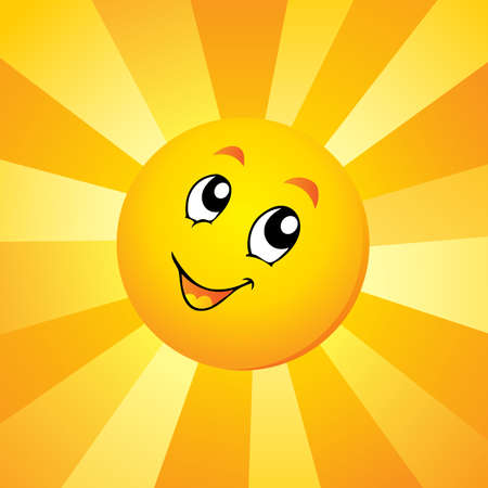 Sun theme  Иллюстрация