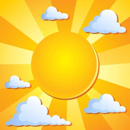 Sun theme Stock Vector - 13879115