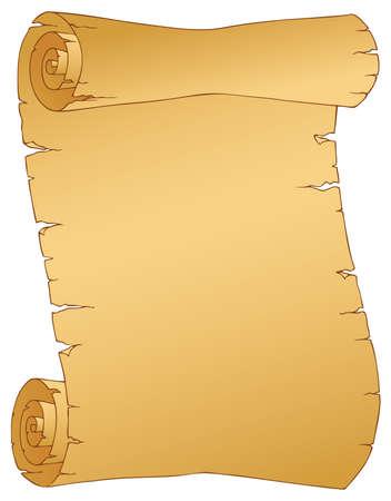 Vintage parchment Ilustração