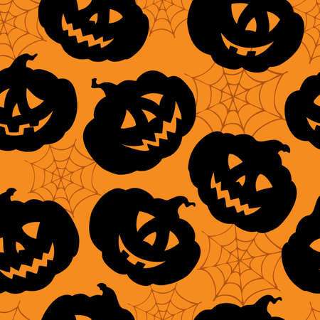 Halloween seamless background photo