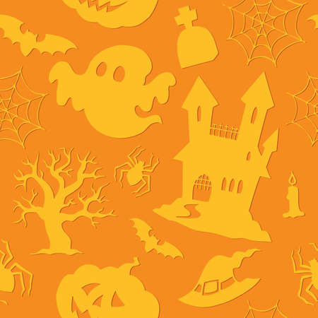 Halloween seamless background 2 photo