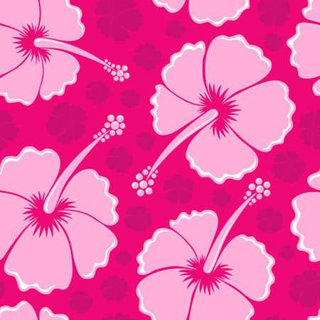 Hibiscus seamless background 3 photo