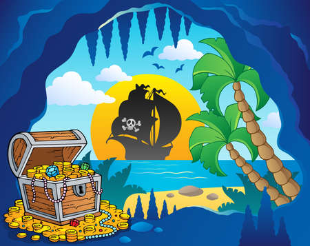 hideout: Pirate cove theme image 1