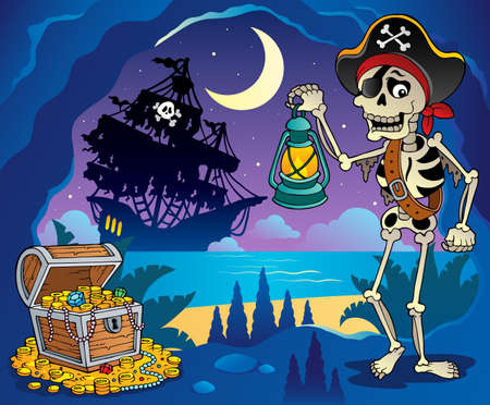 Pirate cove theme image 2 photo