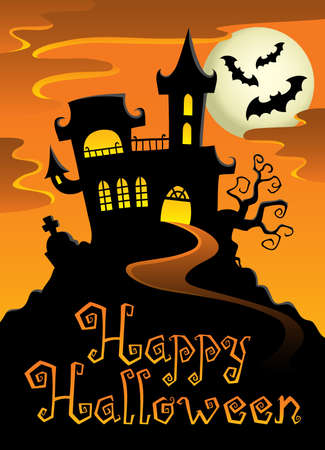 haunt: Happy Halloween topic image 1  illustration  Illustration