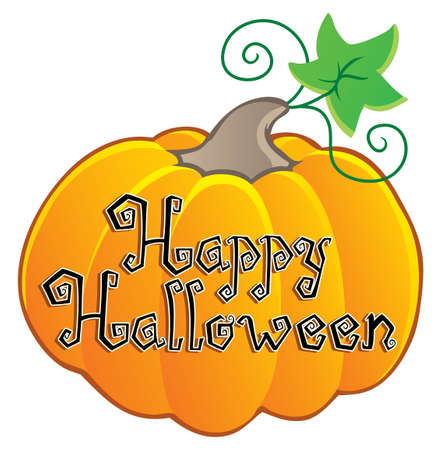 Happy Halloween topic image 2  illustration  Stock Vector - 14603649