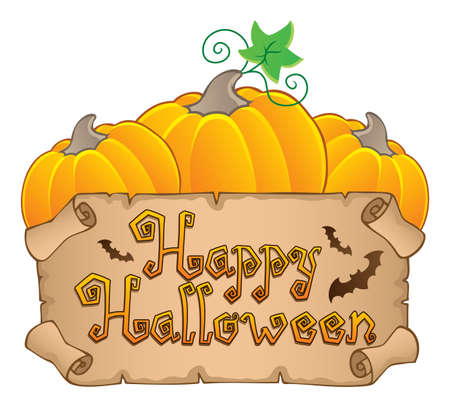 Happy Halloween topic image 3  illustration  Stock Vector - 14603660