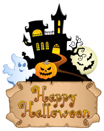 Happy Halloween topic image 4  illustration  Stock Vector - 14604558